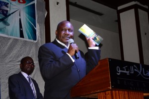 """Dr. Shem Ochuodho shares an element of  his book """"Dawn of a Rainbow"""" as he hints on Kenya's and the world's next big thing: a Phone based application M-KURA."""